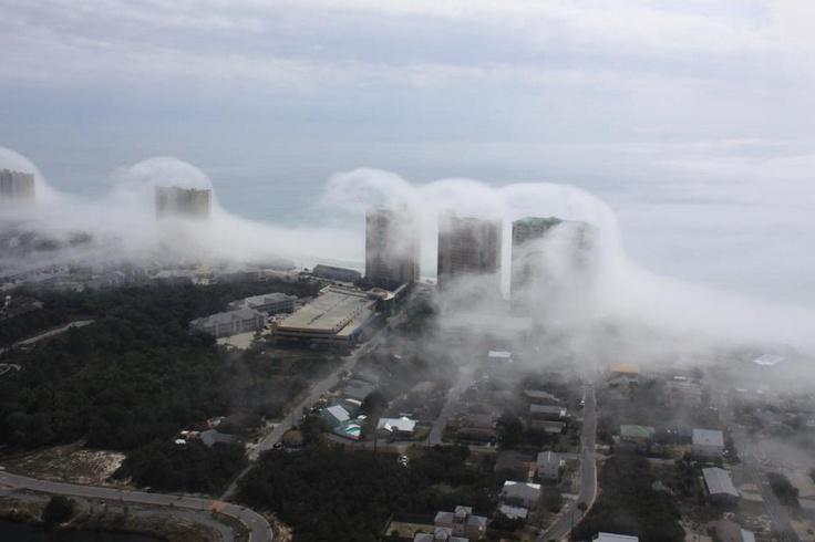 Unusual atmospheric phenomenon - Panama City, Florida