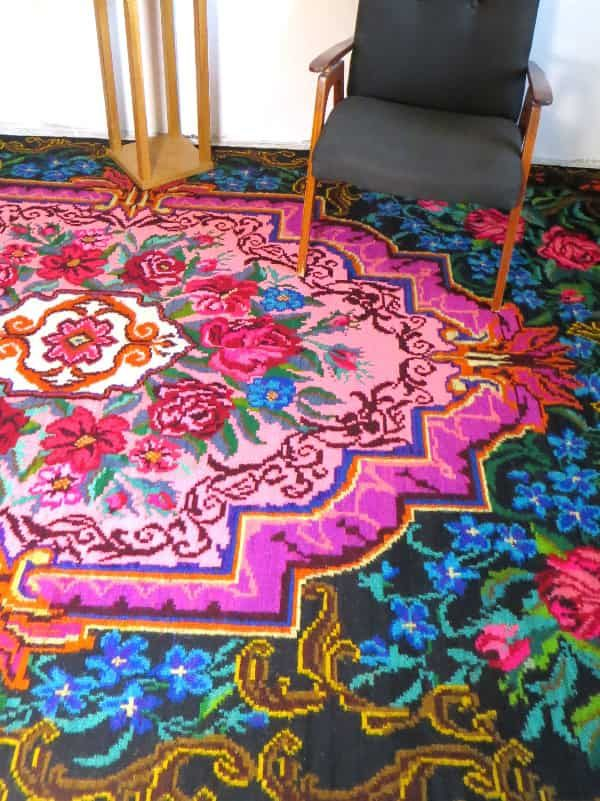 542 best Vintage rose rug, bohemian rugs, rose kilim rug, moldavian ...