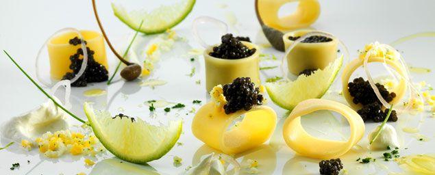 Italian caviar by Peck