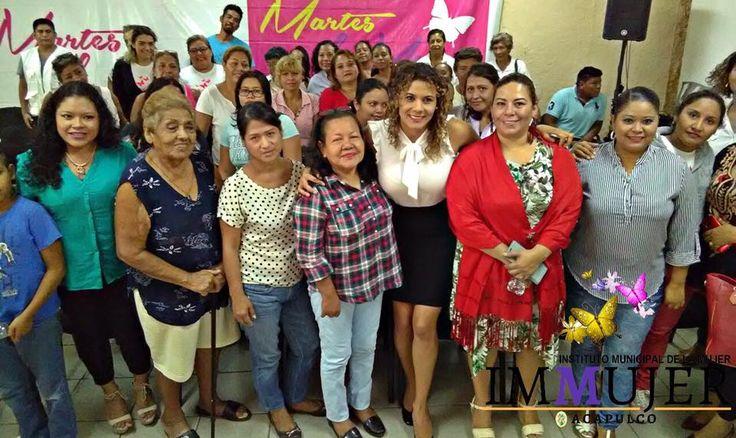 ] ACAPULCO, Gro. * 12 de septiembre de 2017. Gobierno de Acapulco Con el objetivo de concientizar, armonizar y construir un estado de bienestar para las mujeres, con miras a la consolidación del empoderamiento y la equidad de género en sus vidas, el gobierno municipal, a través del Instituto...