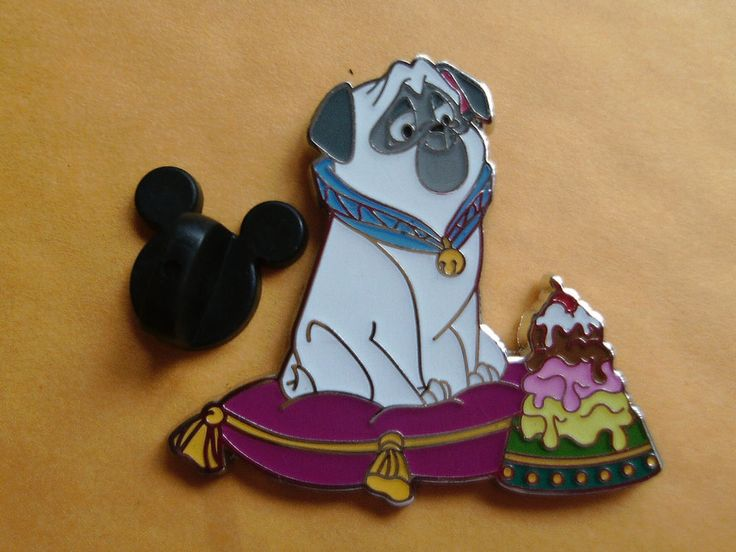 Disney PTD Pin Traders Delight Percy Pocahontas LE 300 Retired DSF DSSH