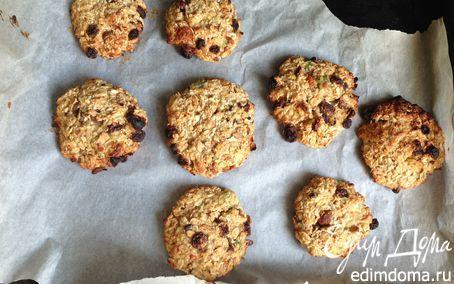 Диетическое печенье из овсяных хлопьев  | Кулинарные рецепты от «Едим дома!»