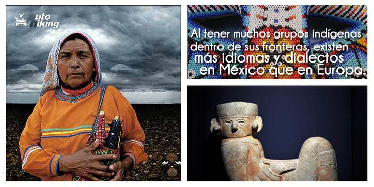 Sabías que... Al tener muchos grupos indígenas dentro de sus fronteras, existen más idiomas y dialectos en México que en Europa #DatoCurioso #México
