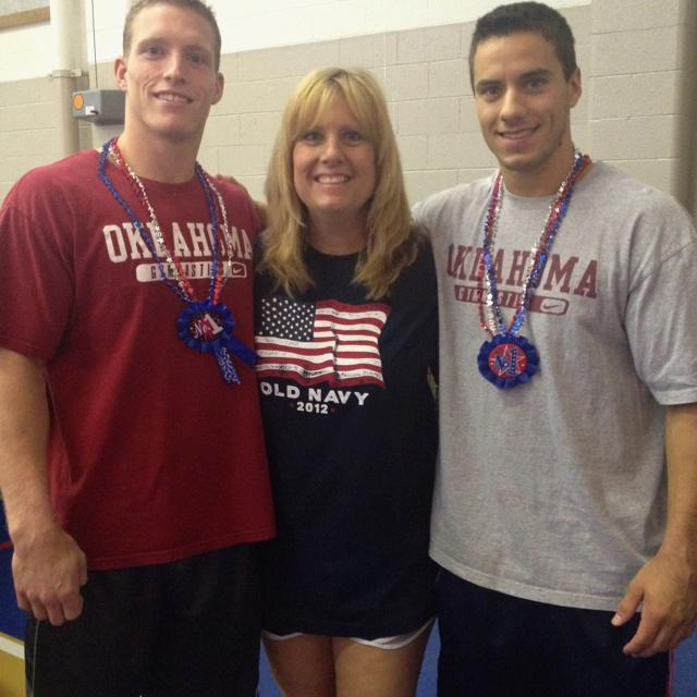 I love my gym boys.  Way to go Steven Legendre and Jake Dalton