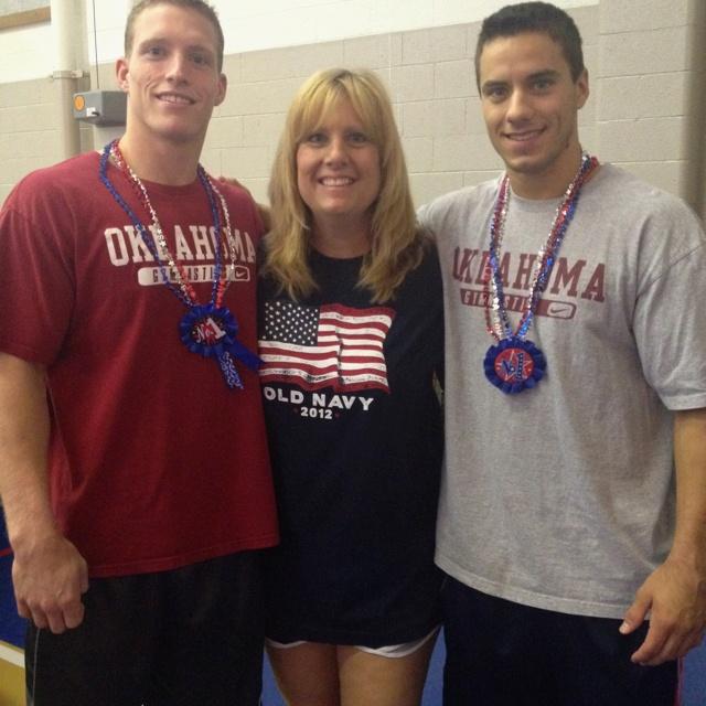 I love my gym boys.  Way to go Steven Legendre and Jake Dalton