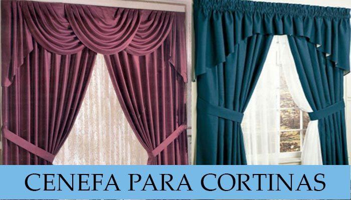 Cenefas de cortinas #curso #patrones #costura | Ideas para el hogar ...