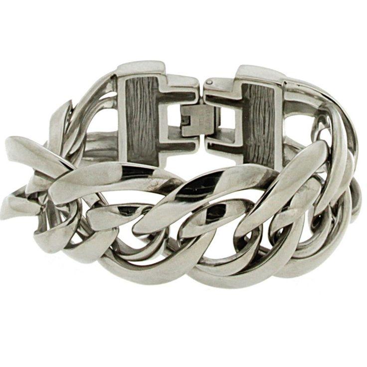 Ixxxi edelstaal armband Shiny IBR15 SS - Sieraden » Lookinggoodtoday.com