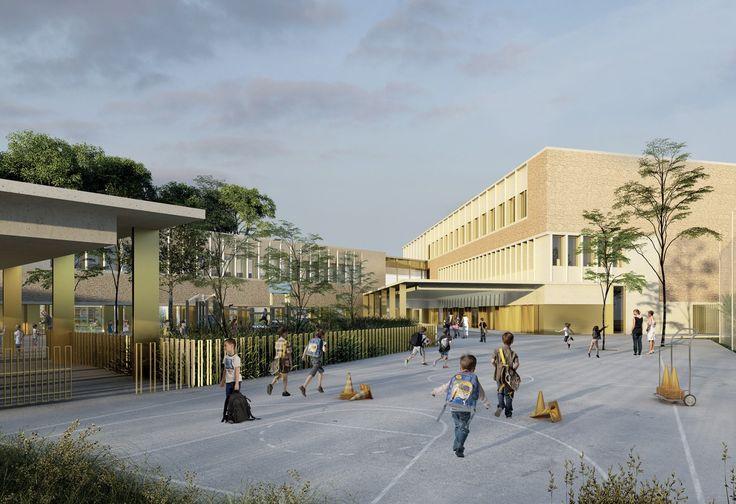 BAMAA - Architectes Associés - Ecole - Public - Lyon - architecture - school