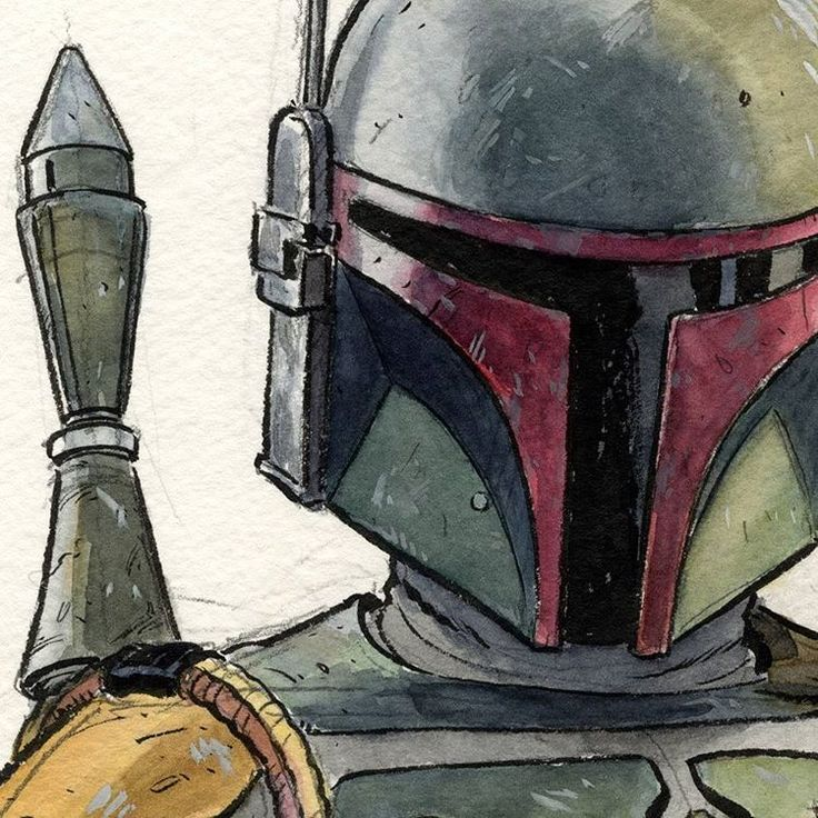 Boba Fett by Paolo Rivera