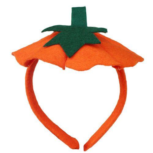 Felt Halloween pumpkin Halloween costume pumpkin  Headband Hairband Pumpkin Custom on Etsy, $13.98