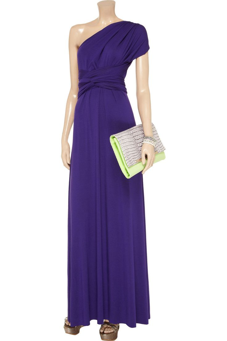 190 best purple bridesmaid dresses images on pinterest for Purple maxi dresses for weddings