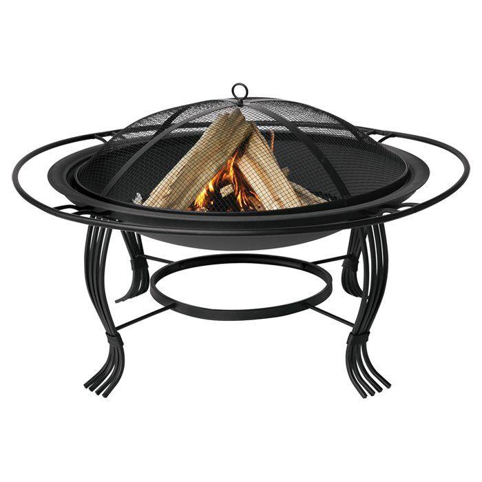 Norris Cast Iron Wood Burning Fire Pit