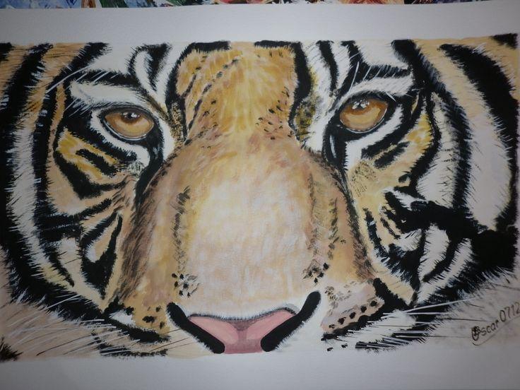 tigre1 - acrilico