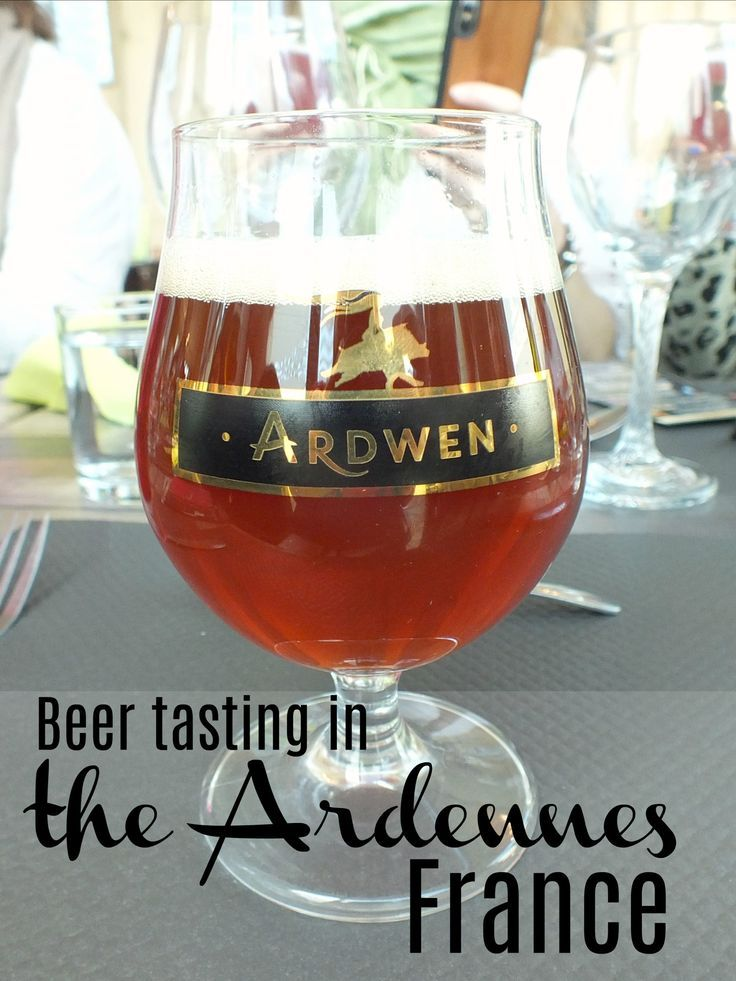 French Beer Tasting At Ardwen Craft Brewery In The Ardennes