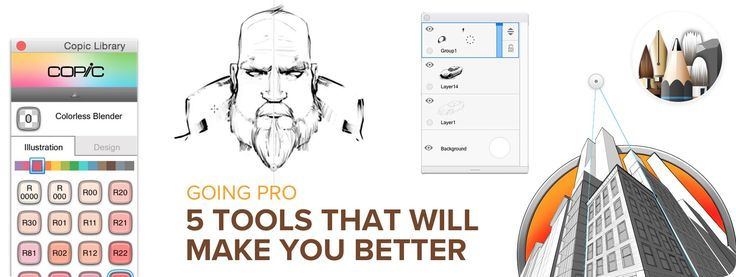 Going Pro: 5 Tools that Will Make You Better — We think every one of these SketchBook Pro tools will help make you a better artist (or at least make you look like a better artist).