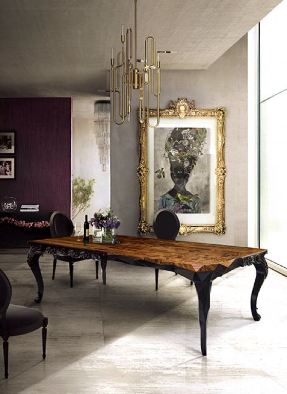 Boca Do Lobo And Delightfull Together In A Fantastic Environment Modernhome Luxuryhome Queen AnneInterior IdeasModern GothKitschDining
