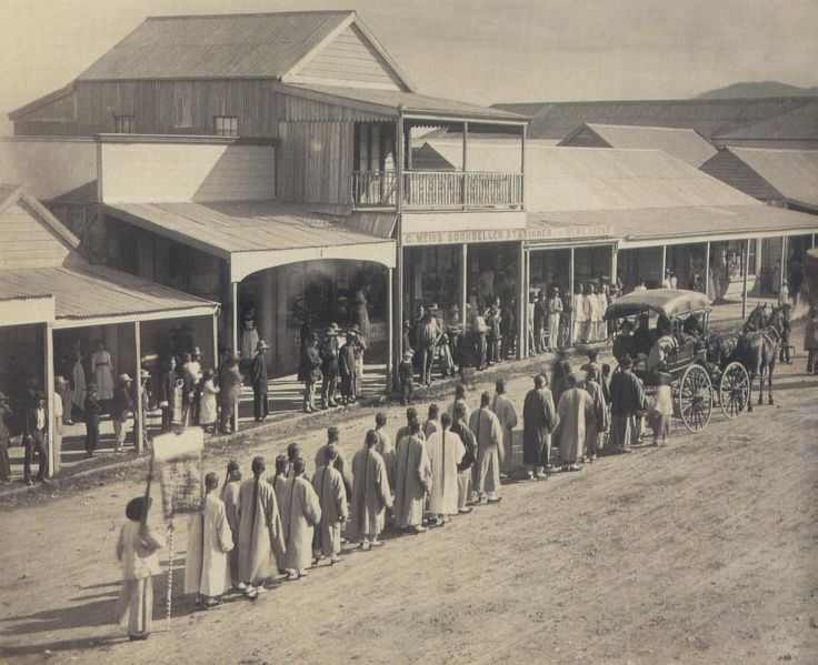 Visit of Chinese Commissioners to Cooktown 1887 Far North Queensland
