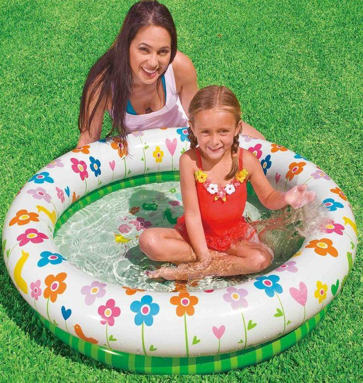 "3 Pack Intex Flower Pool Inflatable Baby Pool 44""x10"" NEW"