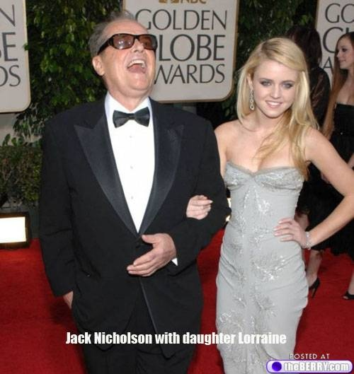 MY SKINNY TWIN!Jack Nicholson's daughter Lorraine! Would love to have her body!