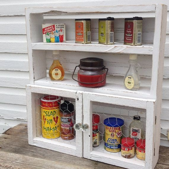 Country Kitchen Spice Rack
