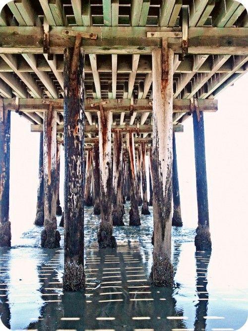 summers under the boardwalk - Aptos, CA <3