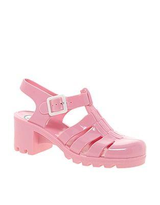 ASOS Fashion Finder | Juju Babe Pale Pink Heeled Sandals