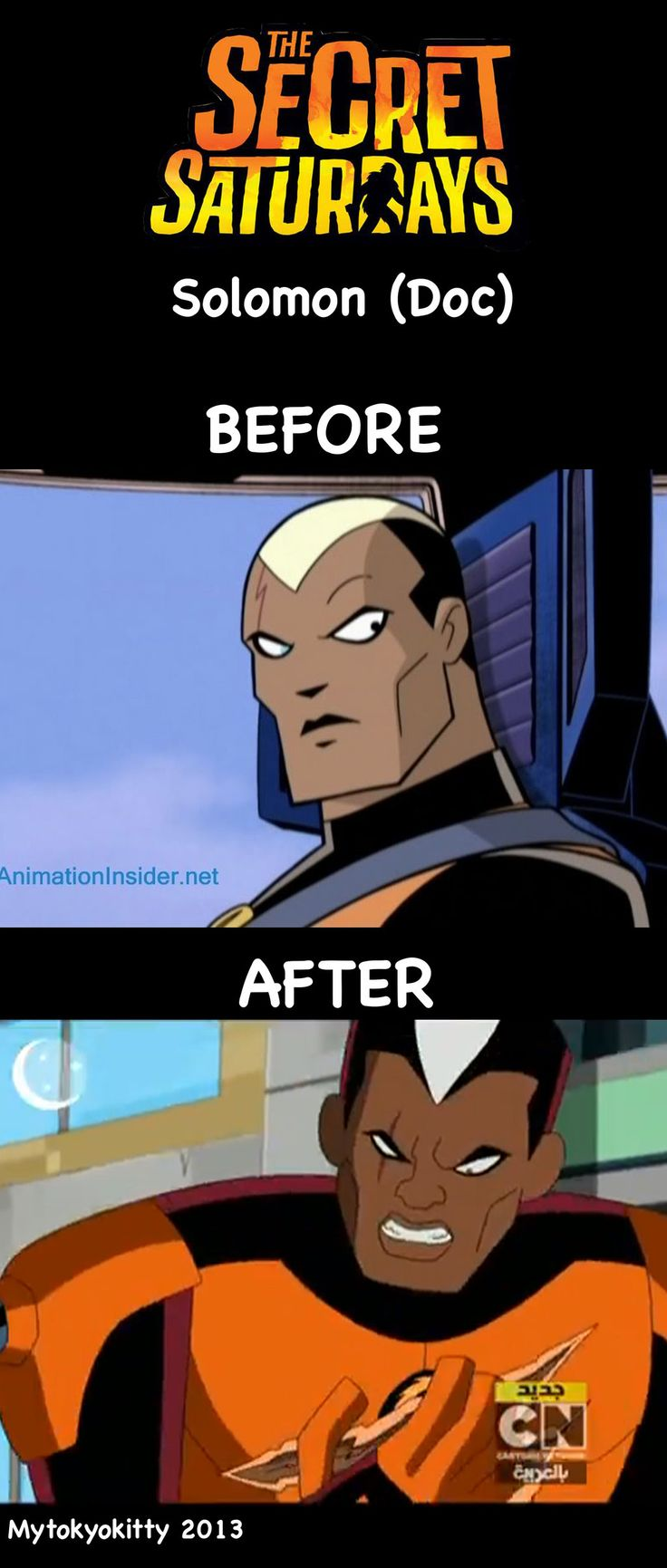 The Secret Saturdays Before and After: Doc by Mytokyokitty.deviantart.com on @deviantART