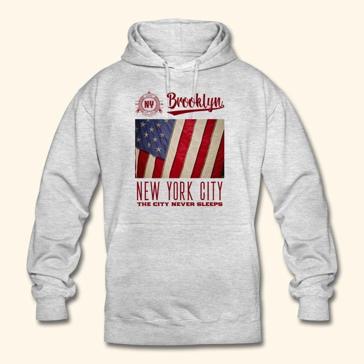 "Printed Shirt ""New York City - Brooklyn ""."