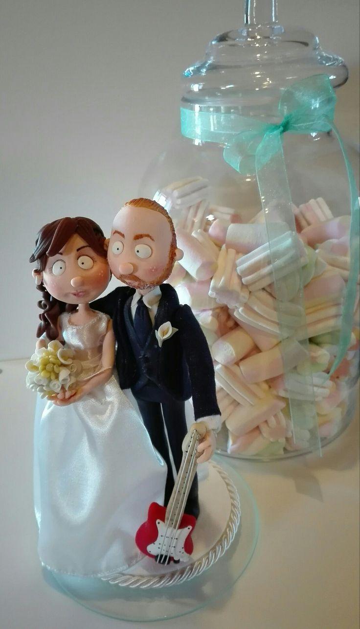 #quisquilie #caketopper #pastadimais #wedding