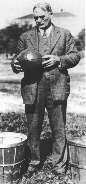 a biography of james naismith the founder of basketball Millions of players of basketball which was created by one man by the name of dr james a naismith james naismith was born around the 1860s james naismith created the game of basketball in 1891 dr james a naismith was truly influential to the sports world through the creation of basketball.