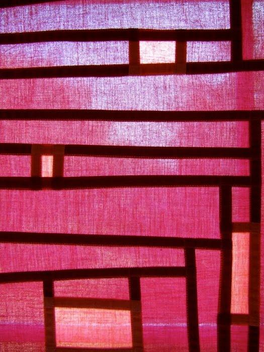 Korean Pojagi,(patchwork) panel.