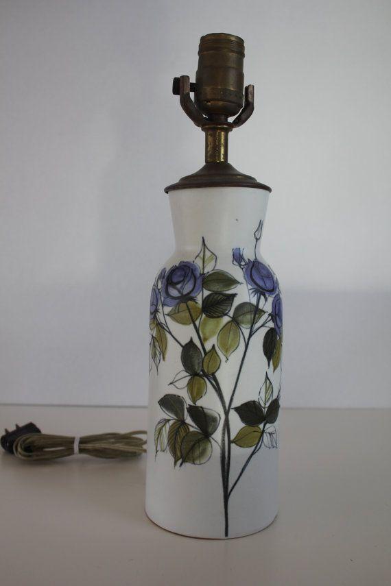 Stunning vintage lamp base by Hilkka-Liisa Ahola for Arabia