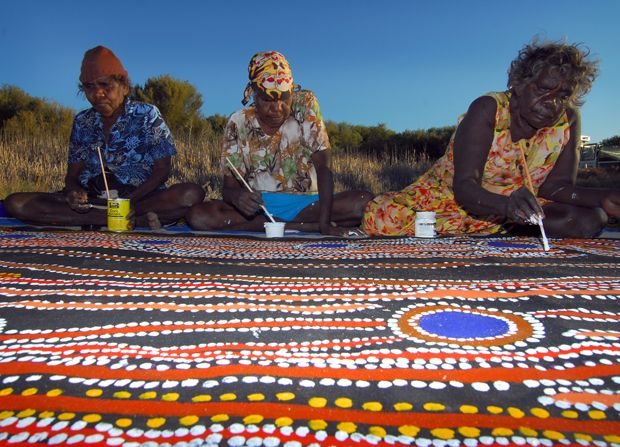 Painting the Canning Stock Route | On Walkabout