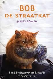 James vindt een gewonde kat in het trappenhuis van zijn flat. Hoewel hij nauwelijks voor zichzelf kan zorgen, neemt hij de rode kater mee naar de dierenarts en verzorgt hem tot hij weer op eigen poten kan staan. Maar Bob besluit te blijven en de twee worden onafscheidelijk. Bob volgt James overal, in de bus, in de metro, en als hij geen zin heeft om te lopen zit hij op James' schouder. Samen verdienen ze hun kostje op straat en worden al gauw beroemd (nog te lezen)