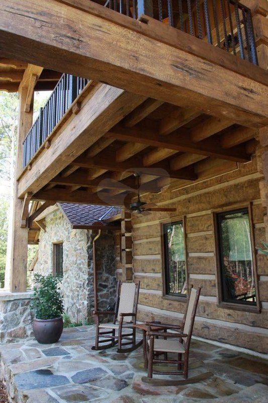 1000 Images About Everlog Concrete Log Timbers On