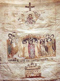 Banner of Macedonians in the Greek War for Independence.