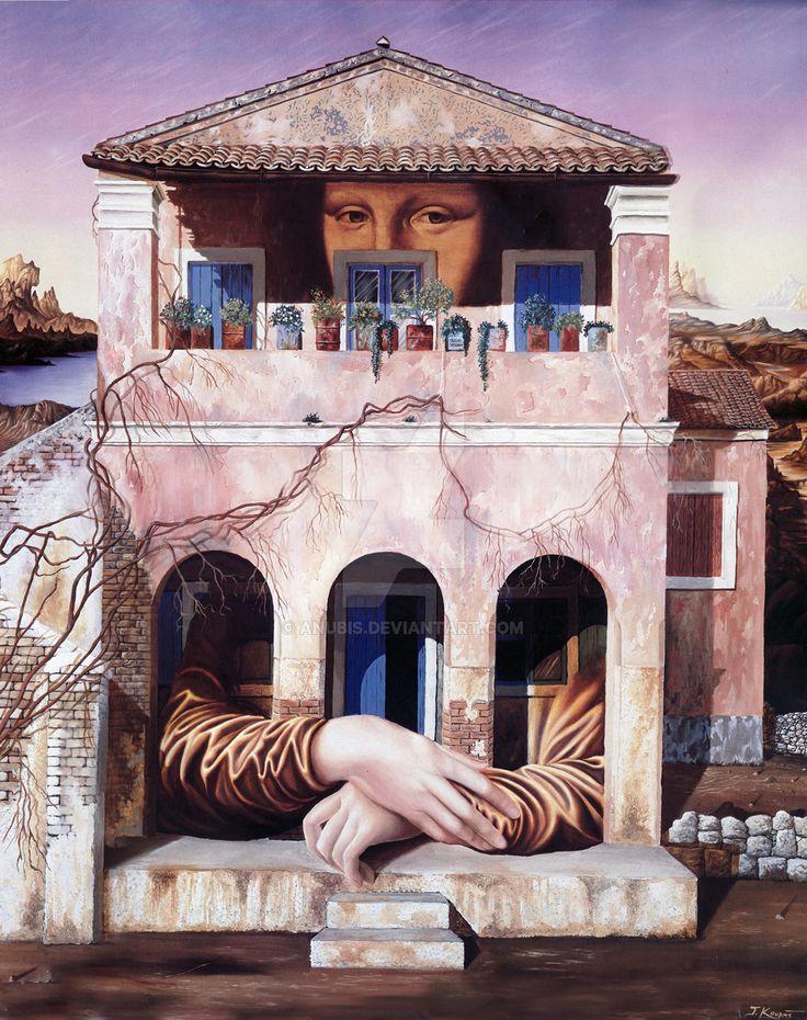 The Smiling House by anubis.Tassos Kouris