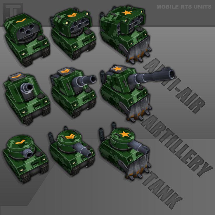 low poly tank game - Google Search