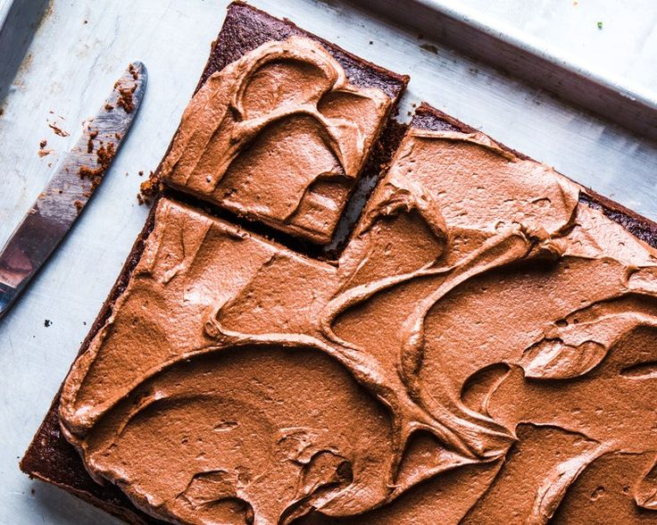 Chocolate Vinegar Cake Recipe - Bon Appétit | Bon Appetit