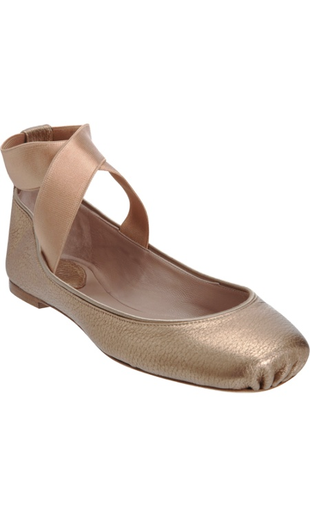 Chloe square toe ballet flats. Actually in love with these, they come in black too!