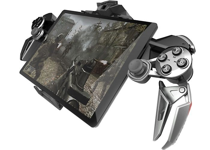 Mad Catz LYNX 9 Mobile Hybrid Controller Unveiled For $300 - The Batman-esque gadget is a foldable controller that is capable of providing a number of functions including the ability to be positioned on either side of your smartphone or tablet to provide physical gaming controls and extra precision whilst battling your favourite foes. | Geeky Gadgets