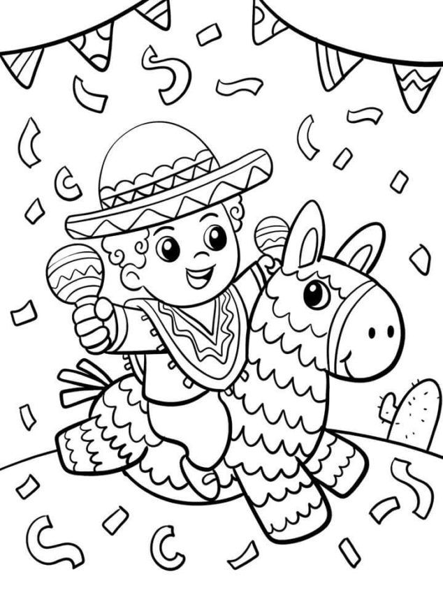 Ideas For Celebrating Cinco De Mayo With Kids Family Focus Blog Coloring Pages Inspirational Cute Coloring Pages Coloring Pages