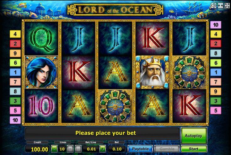 Игровой автомат Лорд Океана - играть онлайн