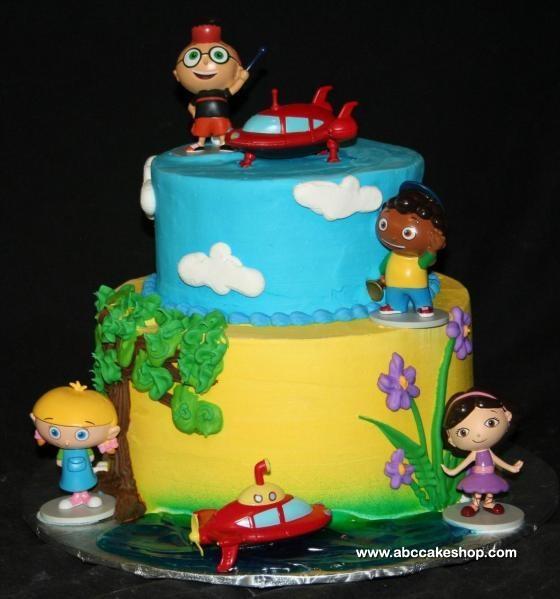 Little Einstein Cake Figurines