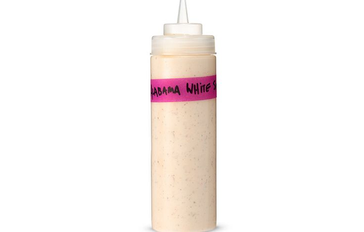 Alabama White Sauce Recipe - Big Bob Gibson Bar-B-Q in Decatur, Alabama, is credited with introducing this mayo-based barbecue sauce to the world. Our recipe is loosely based on the version chef Sean Brock serves at his restaurant Husk in Charleston, South Carolina.