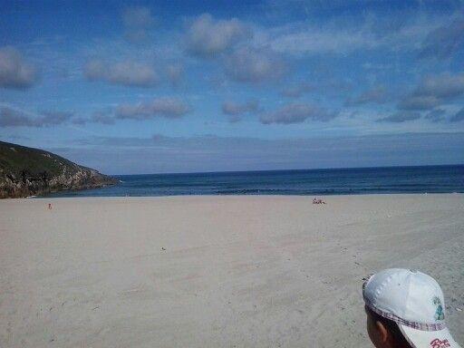 Praia de Valcobo.