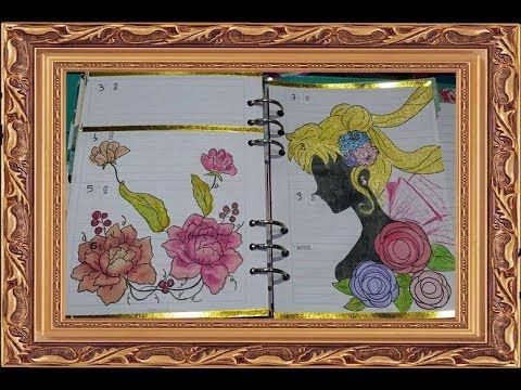 PLAN WITH ME,DECORAZIONE SAILOR MOON CRYSTAL #3