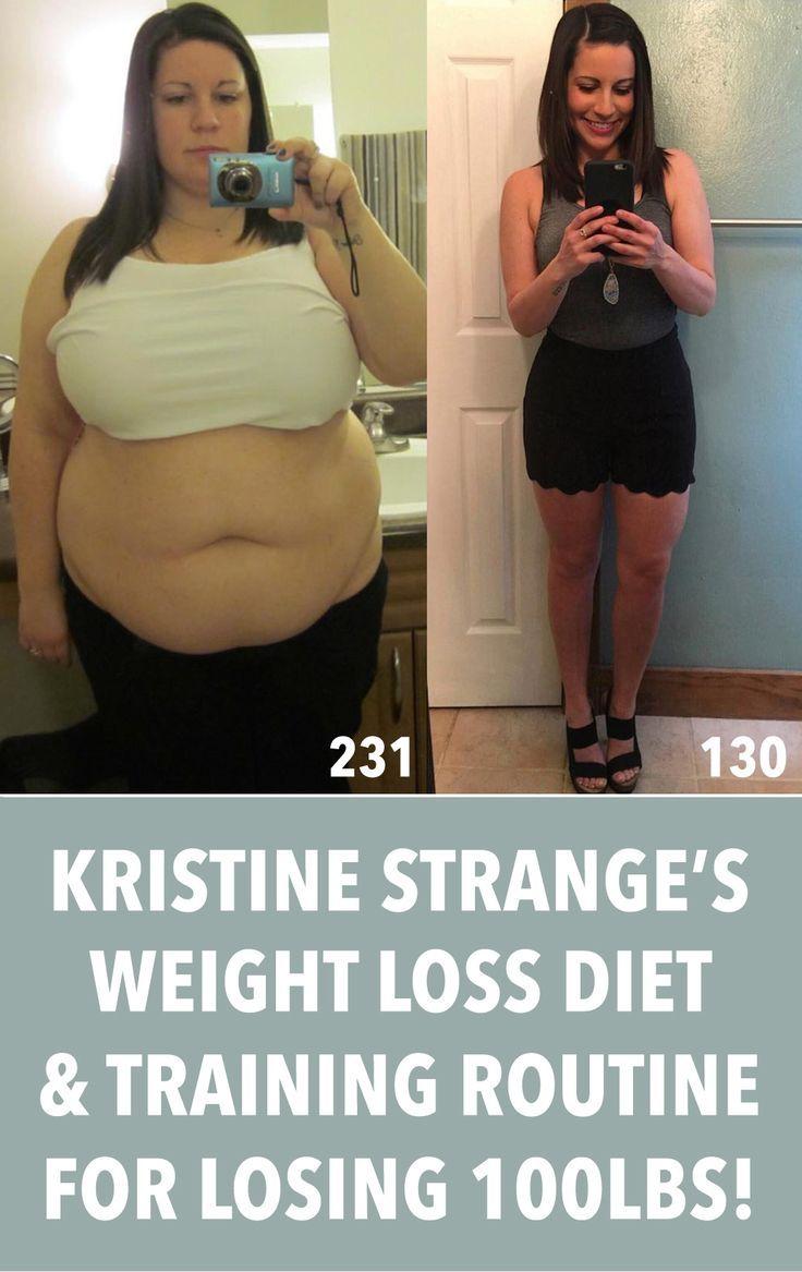 Kristine Strange ILostBigAndSoCanYou Lost 100lbs With This Diet & Workout!