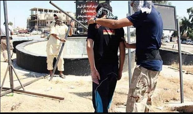 BREAKING REPORT: ISIS Muslim Militants Have Just Crucified a 17-Year-old Boy on a Cross and He Will Remain Hanging for Next 3 Days | sharia unveiled