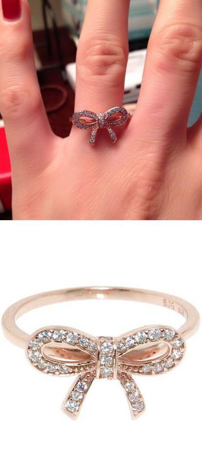 Pave Bow Ring ♥ L.O.V.E.